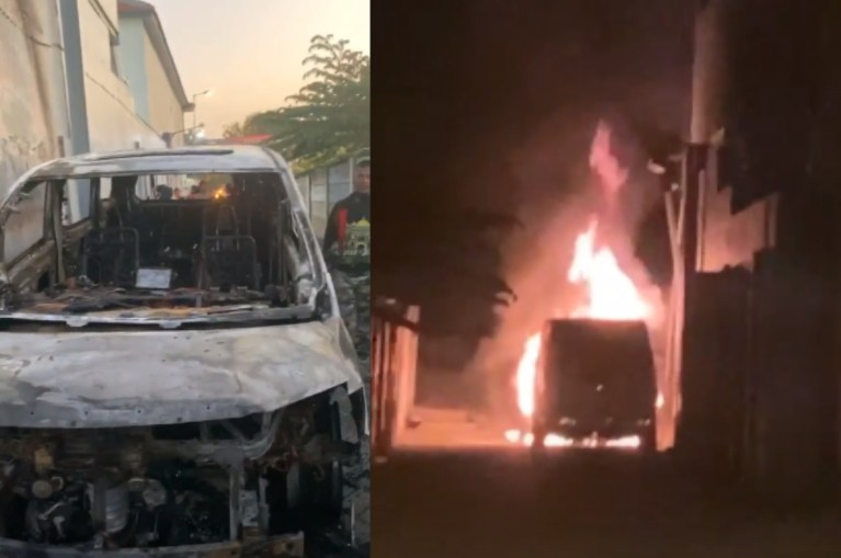 Mobil Toyota Alphard Milik Via Vallen Dibakar Fansnya