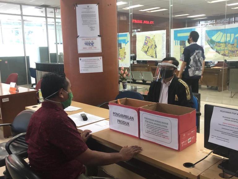 Kantor PTSP Jakut Menyarankan Menggunakan Layanan Online, Meskipun Buka Layanan Tatap Muka dan Drop Box