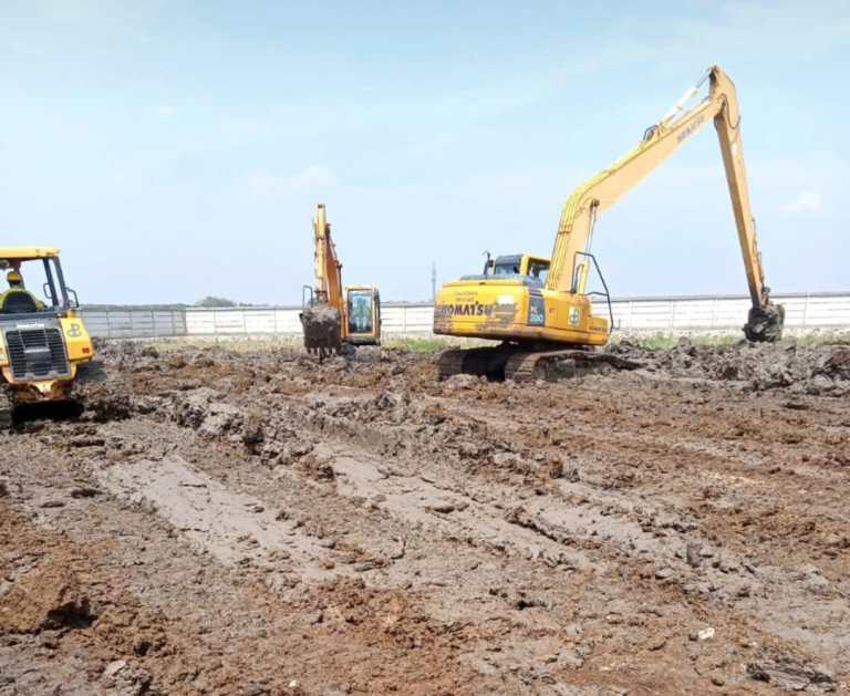 Makam Khusus Covid 19 Sedang Dipersiapkan Sudin Pertamanan dan Hutan Kota Jakut