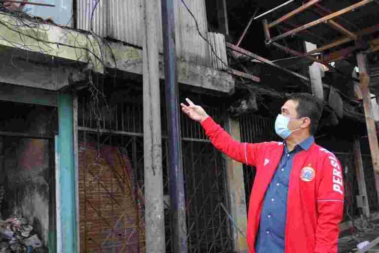 Wagub Ariza Tinjau Fasilitas Umum Yang Rusak Paska Unras