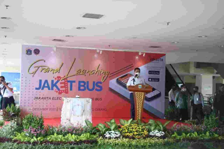 Tiketing JaketBus di Terminal Terpadu di Pulo Gebang Telah Diresmikan Menteri Perhubungan