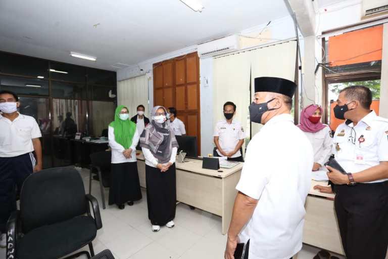 Wabup Gowa Sidak ke Kantor SKPD Memastikan ASN Tidak Tambah Libur