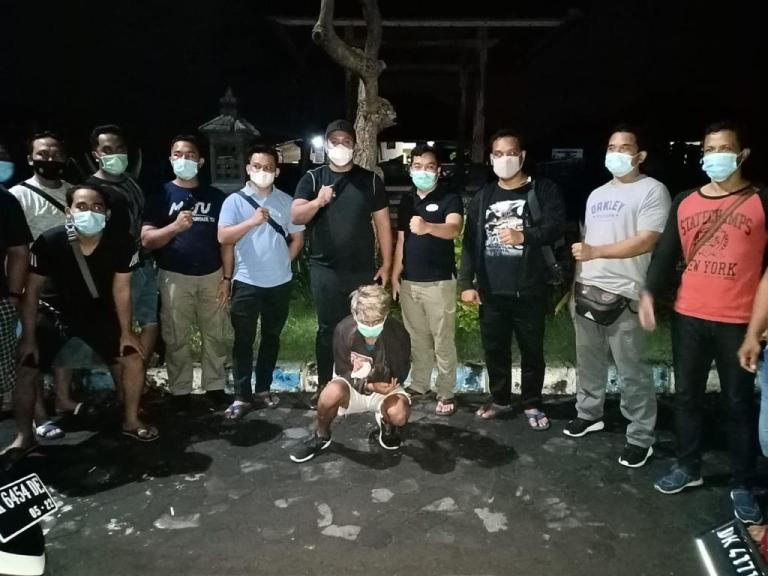 Pelaku Penusukan 25 Liang Pegawai Bank Denpasar Diringkus Reskrim Buleleng