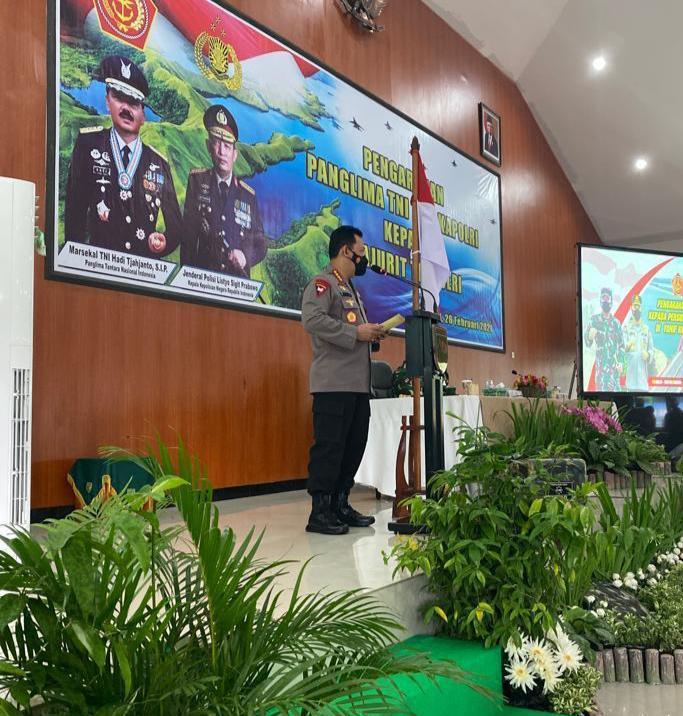 Kapolri Minta Babinsa dan Bhabinkamtibmas Terus Jaga Kondusifitas Papua