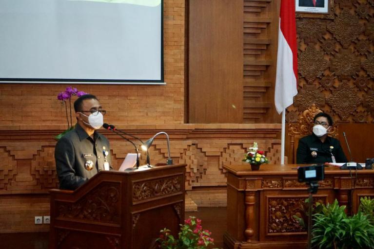 Jaya – Wibawa Sampaikan Pidato Perdana di Sidang Paripurna Dewan, Ini Prioritasnya