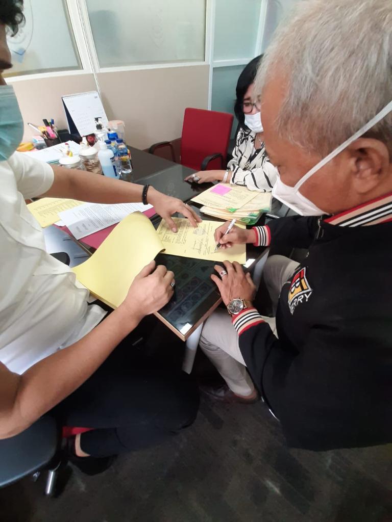 Polri Tangkap 3 Tersangka Dugaan Pemalsuan Surat Undangan RUPS LB PT. BCMG