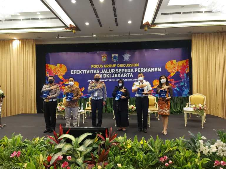 Polda Metro Jaya Bahas Efektivitas Jalur Sepeda Permanen di Jakarta