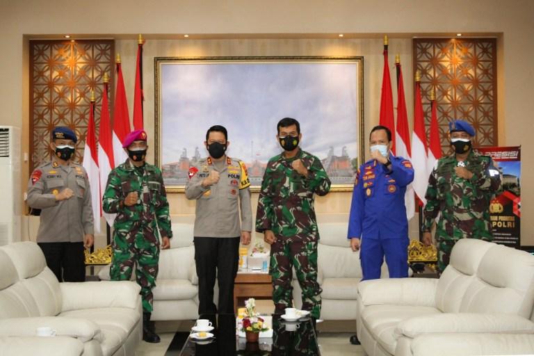 Sepakat Jaga Keamanan Bali Melalui Sinergitas TNI-Polri