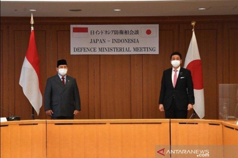 Menhan Prabowo dan Menhan Jepang Bahas Kerjasama Pertahanan