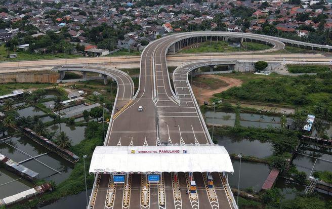 Akses TolMenuju Bandara Soetta Kini Telah 3 Jalur