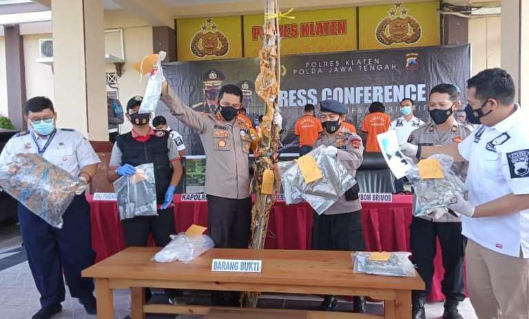 Terbangkan Balon Liar di Klaten 5 Warga Magelang Diamankan Polisi