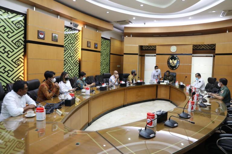 Menko Polhukam Terima Perwakilan Alumni dan BEM UI: Pemerintah Sedang Menggalakkan Restorative Justice