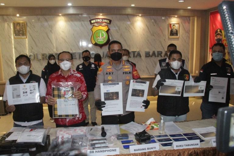 Investasi Bodong Lucky Star Diungkap Polres Jakarta Barat