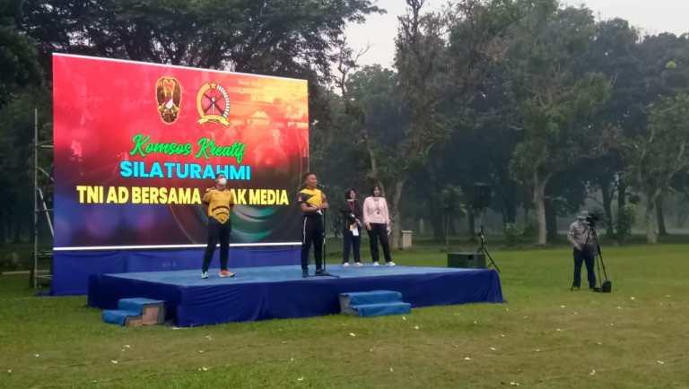 TNI AD Selenggarakan Komsos Kreatif dengan Awak Media, Pererat Sinergitas