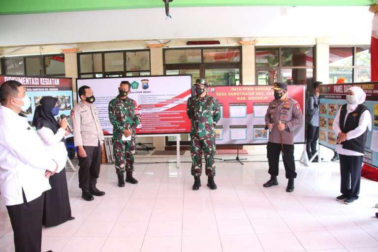 Kapolri Optimis Akhir Agustus Warga Jawa Timur Terima Hadiah Herd Immunity