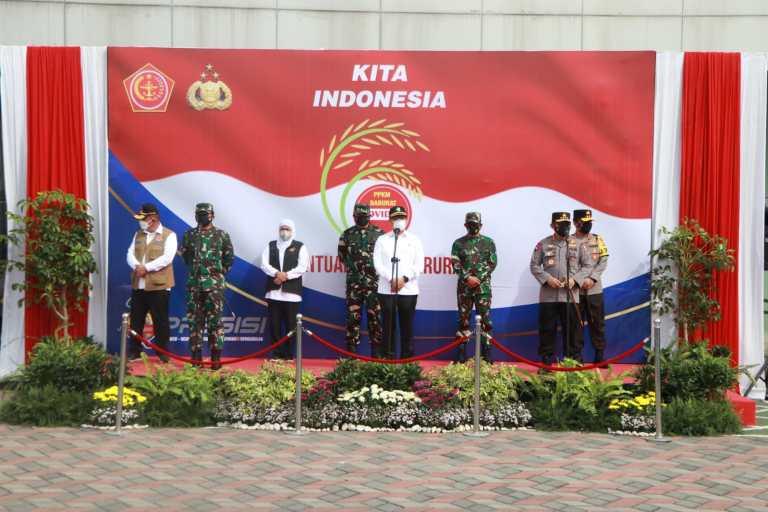 Arahan Presiden, Kapolri Perintahkan Jajarannya Salurkan 2.500 Ton Beras dan 70.000 Paket Sembako Keseluruh Indonesia