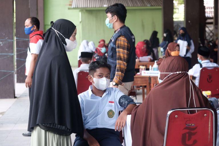 AMP Gowa Target 1.000 Pelajar Tervaksin, Upaya Bantu Pemerintah Percepat Vaksinasi