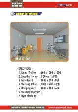 11. Laundry set hospital