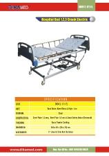 14. Hospital bed 1,2,3 crank electric