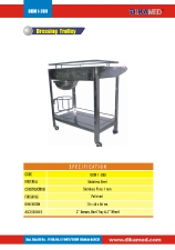 40. Dressing trolley