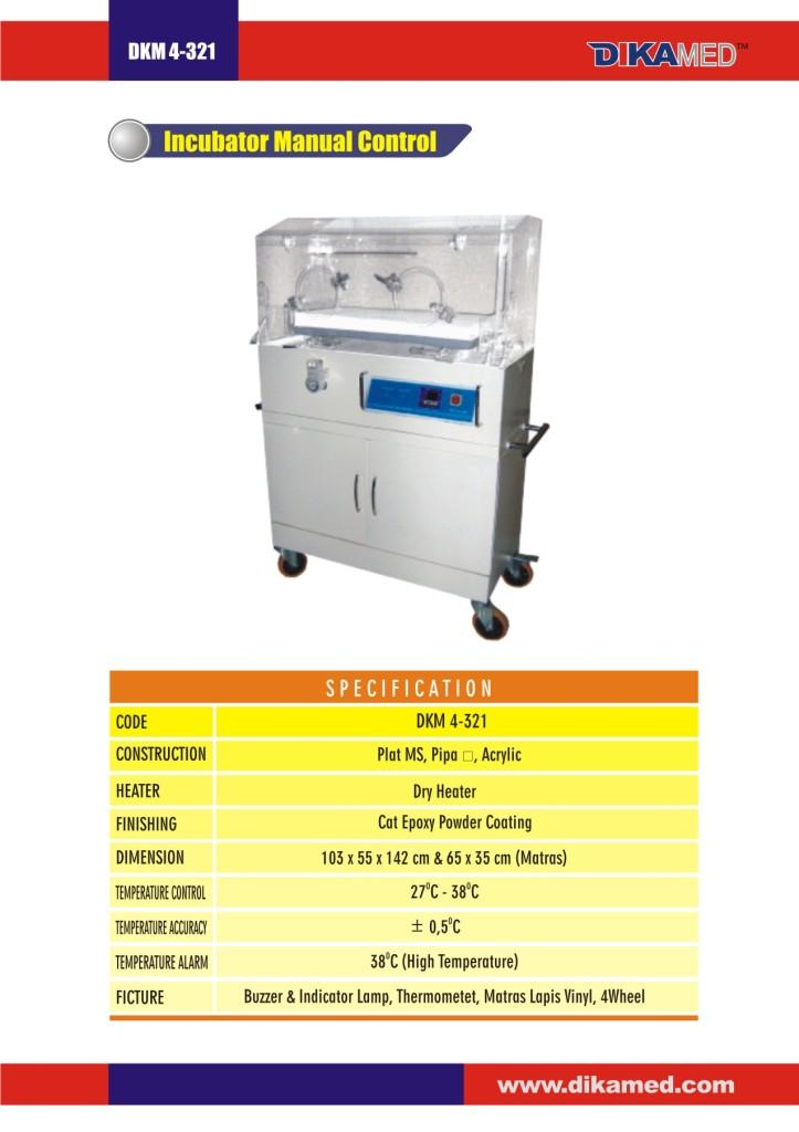 104. Incubator Manual Control