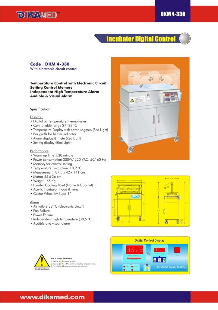 105. Incubator Digital control