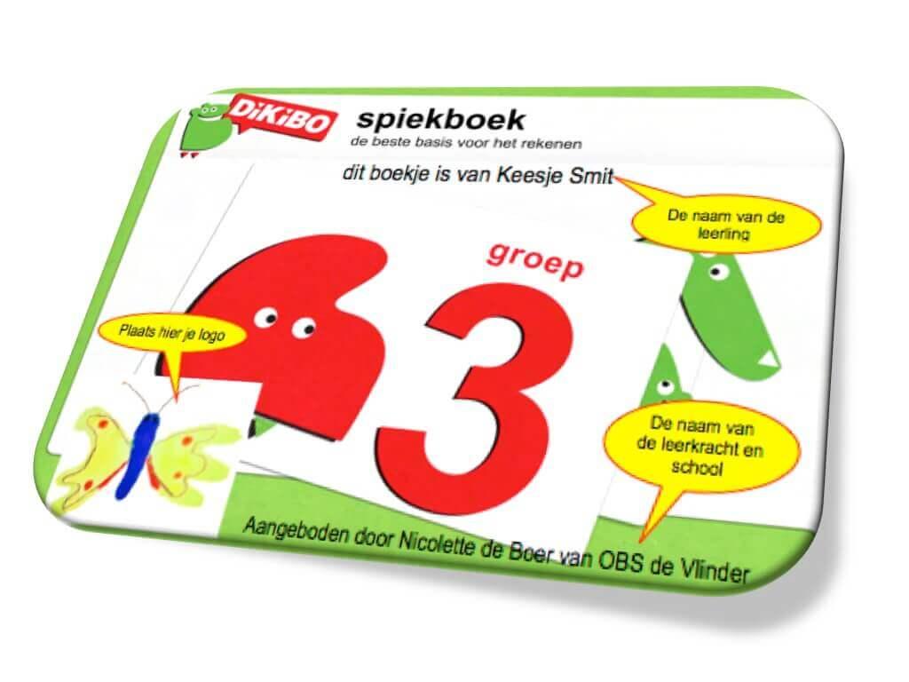DiKiBO Spiekboekje rekenen groep 3 Special Edition
