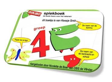 DiKiBO Spiekboekje rekenen groep 4 Special Edition