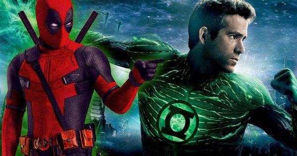 Ryan Reynolds, Green Lantern'ı Çekerken Deadpool'u Yazıyormuş 7