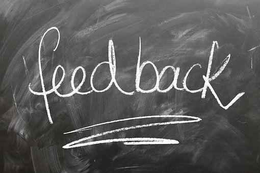 Vraag om concrete feedback zodat je er ook iets mee kunt