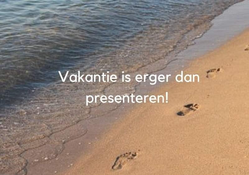 #presenteren #presentatiecoaching #storytelling #vakantie