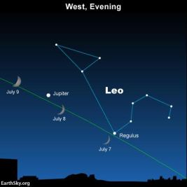2016-july-7-8-9-moon-regulus-jupiter