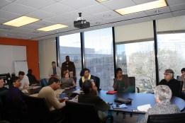 """ABŞ, Atlanta, """"The Atlanta Journal Constitution"""" qəzetinin redaksiyası, Planlaşdırma toplantısı"""