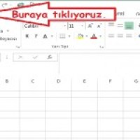 Excel'de Dosya Şifreleme Resimli Anlatım