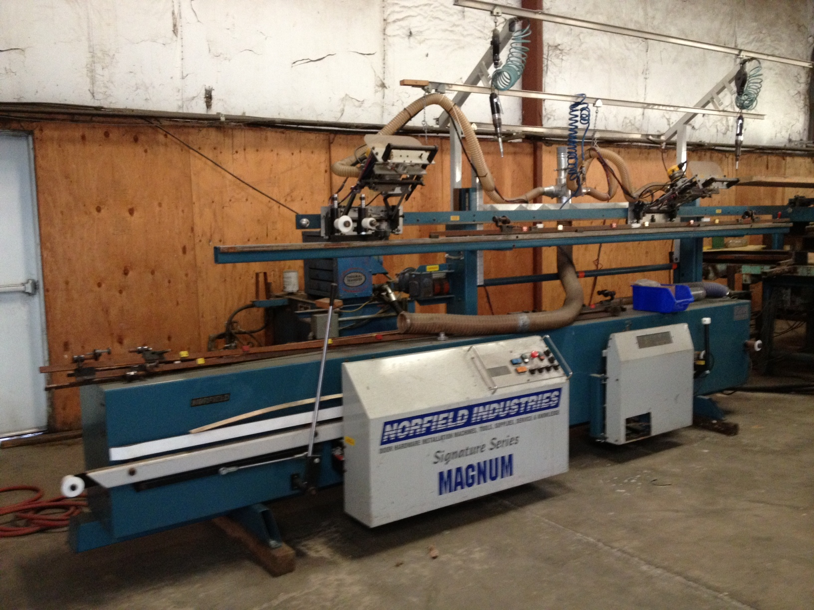 2002 Norfield Signature Magnum Door Machine 171 Door
