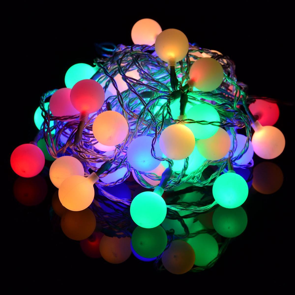 Farbige Lichterkette Lichterkette Led Bunte Led Lichterkette