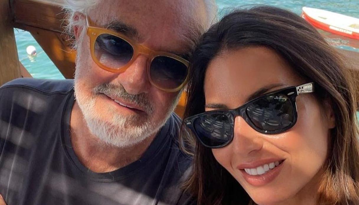 Elisabetta Gregoraci, reunion di famiglia con Briatore a Capri: la foto su Instagram