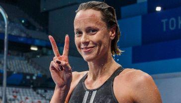 Federica Pellegrini dice addio alle Olimpiadi: la festa a Tokyo con gli Azzurri