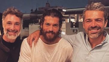 Luca Argentero e Can Yaman, la foto con Raoul Bova che sancisce la pace