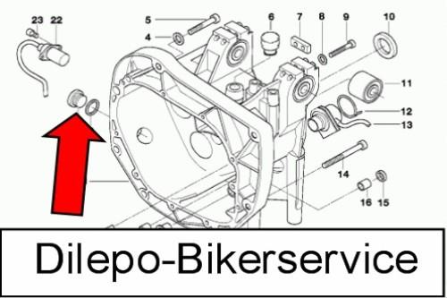 BMW K1200RS V2A Schraube Öl-Einfüllschraube K 1200 RS