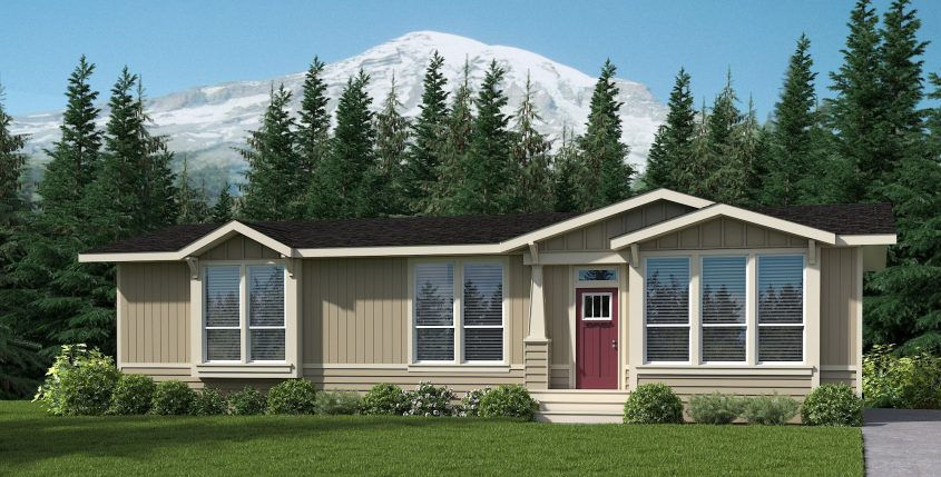 Cavco manufactured home looks just as good as 3D printed homes