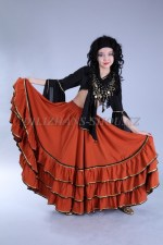 2278. Цыганский национальный костюм женский