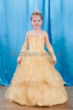 0379. Бальное платье Королевское воздушное