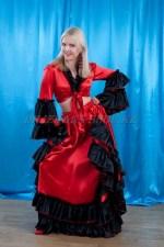 2296. Испанский костюм женский