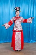 2176. Китайский национальный костюм женский