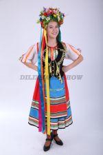 4259. Украинский народный костюм для девочки-подростка