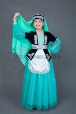 5302. Агдалия. Татарский народный костюм.