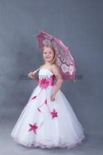 5623. Бальное платье с зонтиком