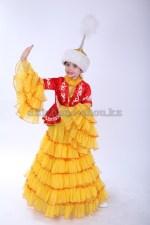 Казахский костюм для девочки