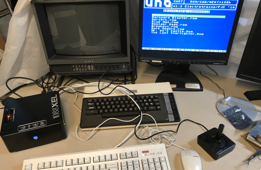 XEL running uno cart